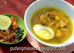 Resep Masakan Soto Daging