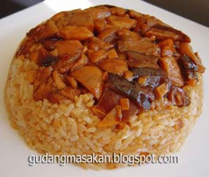 Cara Memasak Masakan Nasi Tim Ayam
