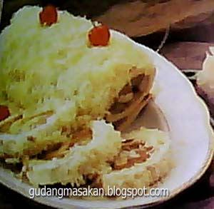 Resep Kue Bolu Gulung Keju