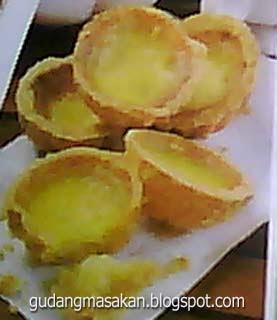 Resep Kue Egg Tart