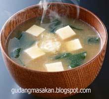 Resep Masakan Mishoshiru Soup