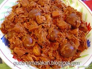 Resep Masakan Gudeg Yogya