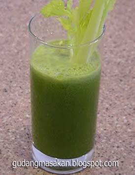 Resep Minuman Koktil Seledri Jaya