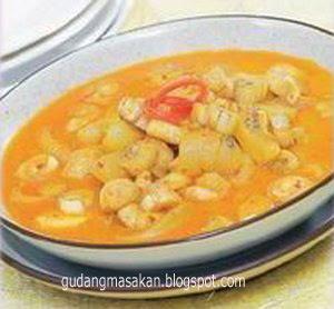 Resep Masakan Kalio Kikil