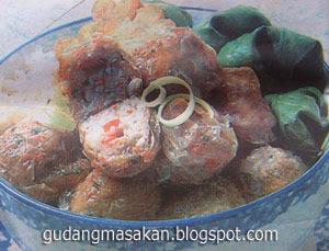 Resep Bakso Kepiting