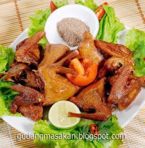 Resep Masakan Burung Dara Saus Mentega