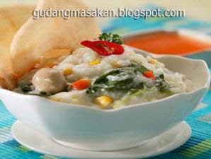 Resep Masakan Bubur Sayur