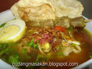 Resep Masakan Bubur Ayam Kuah Soto