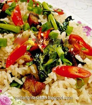 Resep Masakan Nasi Goreng Kailan