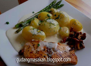 Resep Masakan Tim Ikan Salmon
