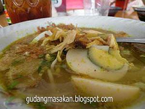 Resep Masakan Soto  Malang