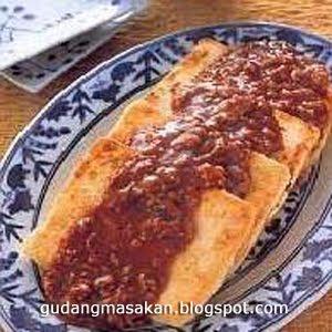 Resep Masakan Tahu Siram Daging