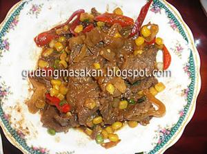 Resep Masakan Daging Bumbu Manis