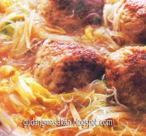 Resep Masakan Ayam Kuah Suun