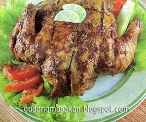 Resep Masakan Ayam Ungkep Bakar