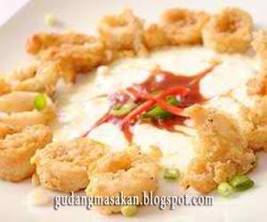 Resep Masakan Seafood Goreng Saus Tartar
