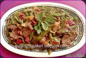 Resep Masakan Daging Sapi Masak Saus Tiram