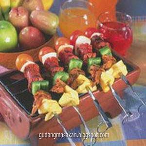 Sate Sosis Nanas Saus Tomat Untuk Bayi