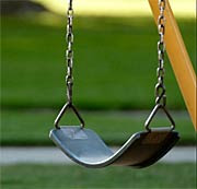 Empty swing