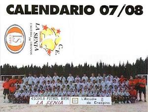 CALENDARIO TEMPORADA 07/08