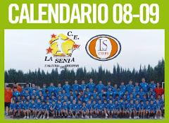 CALENDARIO TEMPORADA 08/09