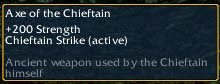 Axe of the Chieftain