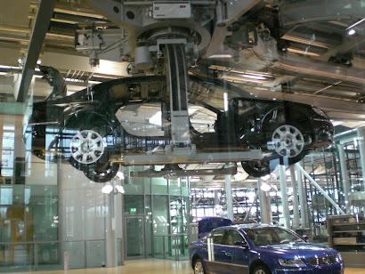 ... e 60 anos mais tarde, 2009 na Volkswagen Dresden