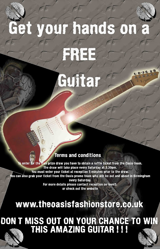 Get your hands on a FREE Guitar title=