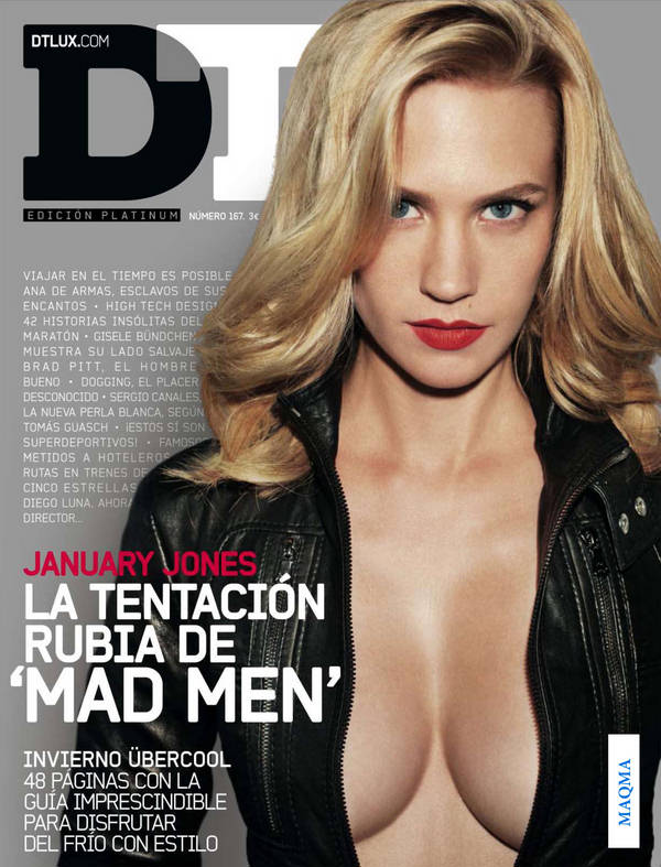 Click on Pictures to Get January Jones DT Magazine Hot Scans HQ