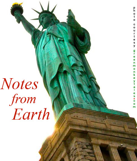 Notes from Earth