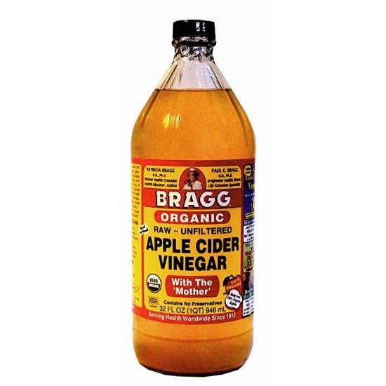 Re the values of raw apple cider vinegar organic