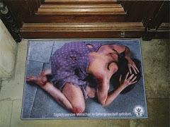 Basta de violência contra mulher
