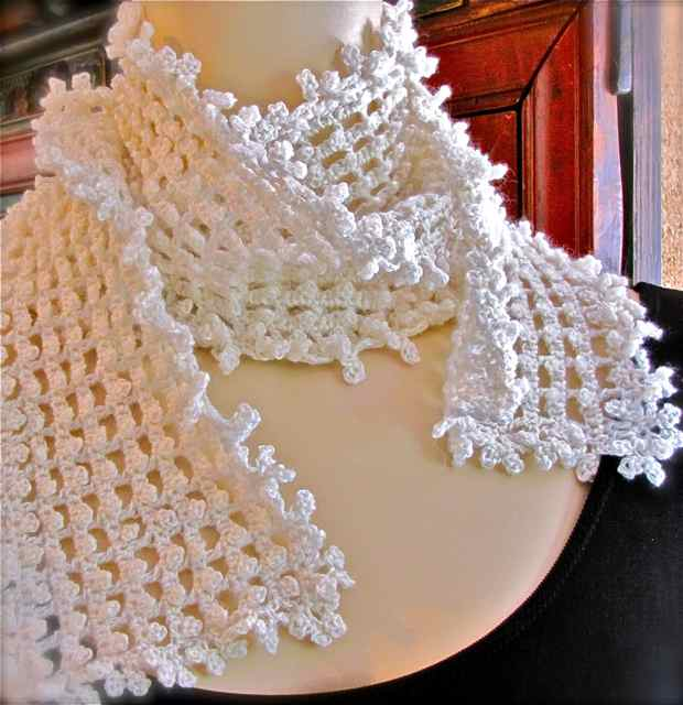 Crochet Stitches Picot Edging : Vashtis Crochet Pattern Companion: Crochet Picots You Can Love