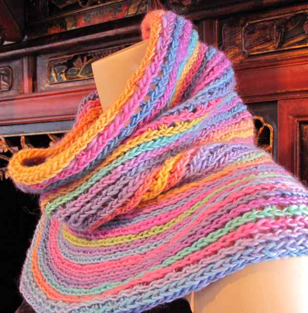 The New Crochet Cowl Scarves: New Release: Crochet a Spiraling Orbit ...