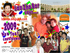 lzbsays... LaoZhaBor 2009 countdown at Harris Hotel Batam