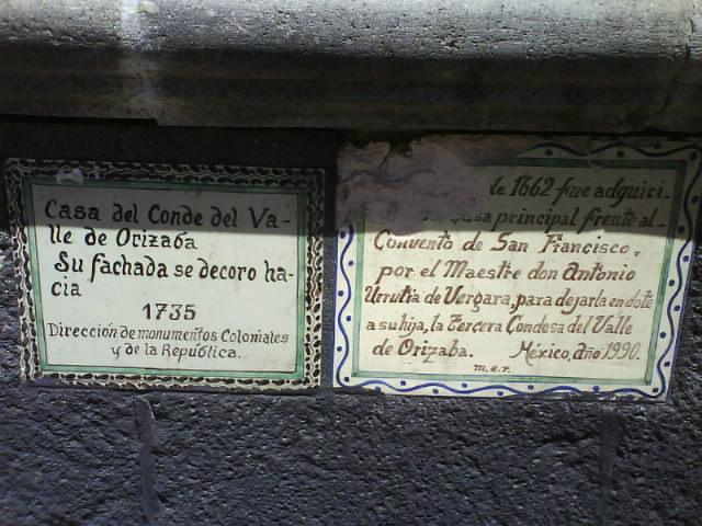 Regiones del edo mex la casa de los azulejos for Sanborns orizaba