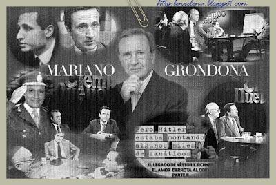 Rumores y silencio sobre la salud de Mariano Grondona
