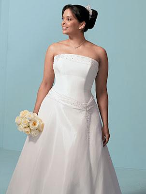 vestidos de noche para gorditas. Vestido de novia con talle de