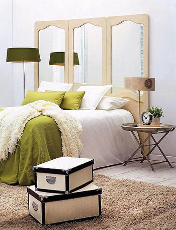 Cabeceros originales decoraci n retro - Cabeceros cama caseros ...