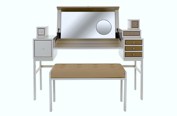 Todas decoracion de la casa mesa tocador muy moderna de - Tocador moderno dormitorio ...