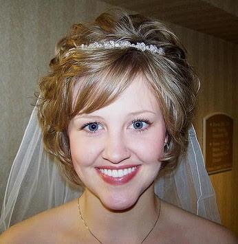 Frisuren für die Hochzeit  - kurze Haare