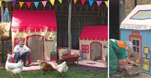 Casas de juguetes para ni os decoracion endotcom - Casita tela ninos ...
