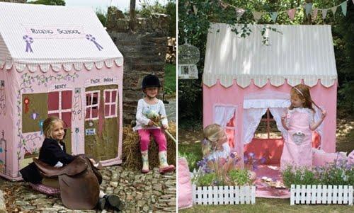 Casas de juguetes para ni os decoracion de salones - Casas de juguetes para ninos ...