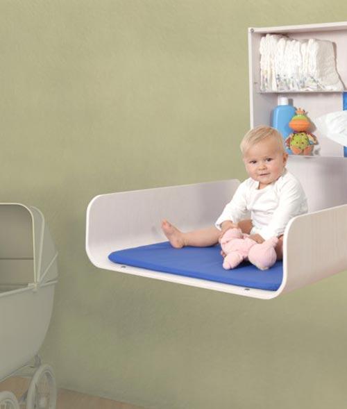 Moderno cambiador para bebes owo que ahorran espacio - Fundas para cambiador de bebe ...