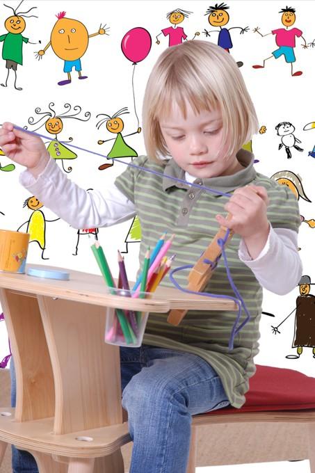 Mesas para niños en edad preescolar | Decoración y Moda Infantil