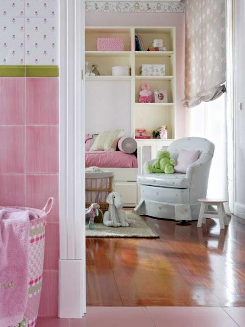 Decoraci n de un dormitorio para ni as decoracion de salones - Dormitorio para ninas ...