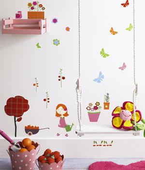 Pegatinas para las paredes del cuarto de tus hijos decoracion endotcom - Pegatinas para decorar ...