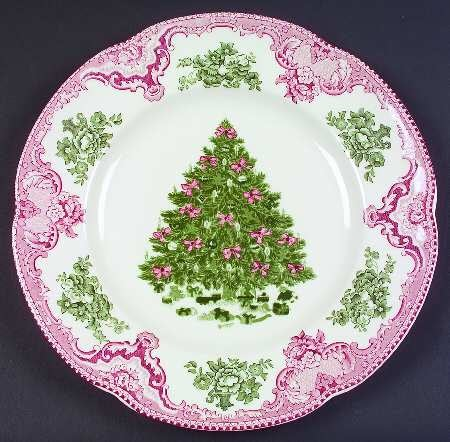 Web de la navidad decore su mesa de navidad con hermosa - Vajilla de navidad ...