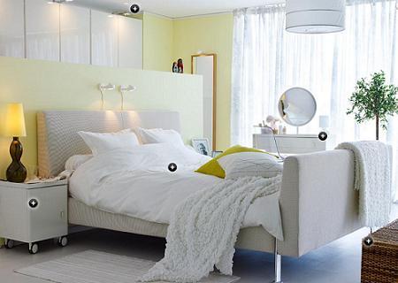 Ikea nos muestra sus dormitorios decoracio nesdotcom - Ikea muebles blancos ...
