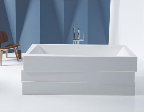Baños Elegantes Con Tina:Tinas para baños elegantes – Lithocast bañeras independientes por